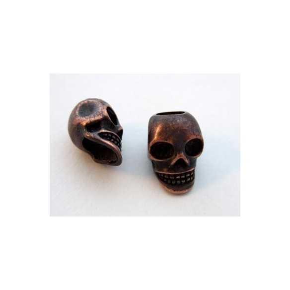 Skull / Antique Copper