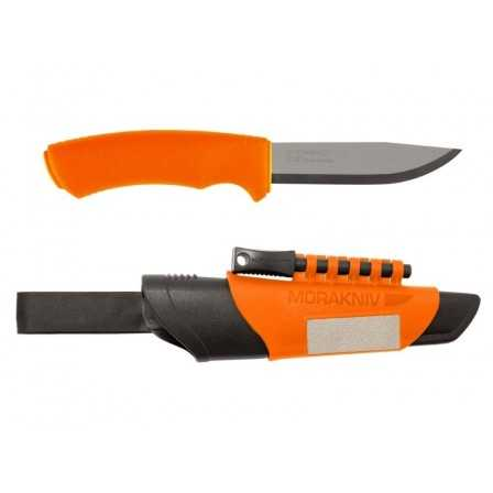 Mora knife Bushcraft Survival Orange Stainless