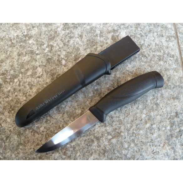 Mora knife Companion Black stainless