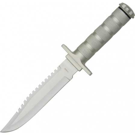 Survival Knife Silver
