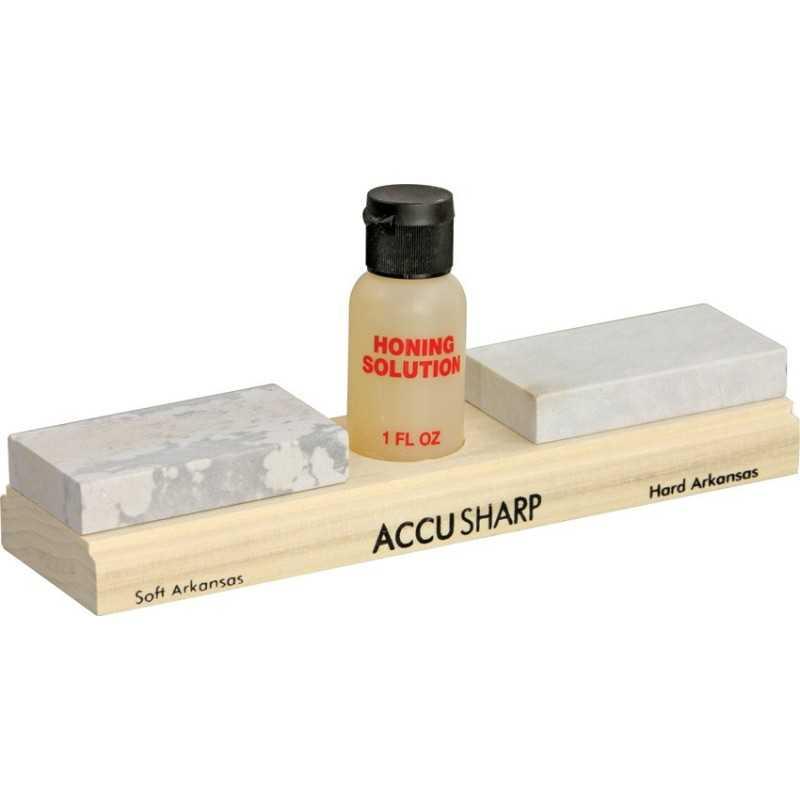 AccuSharp Arkansas Whetstone Combo Kit