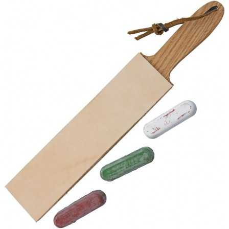 Garos Goods Paddle Strop 2in w/Compound