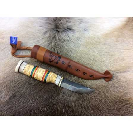 Woodjewel Sateenkaaripuukko / Rainbow knife