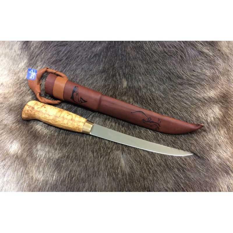 Woodjewel Fileerausveitsi visa / Filleting knife