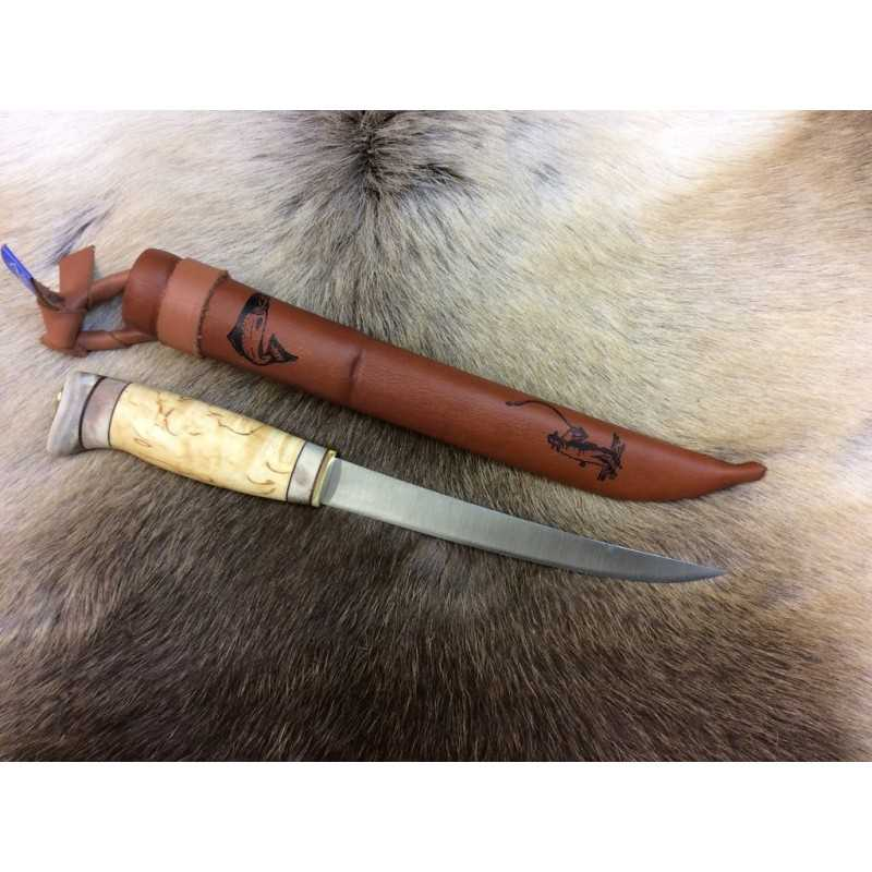 Woodjewel Fileerausveitsi / Filleting knife
