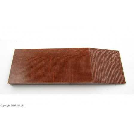 Micarta Brown canvas 8 mm