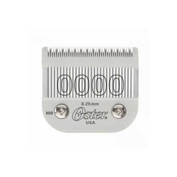 Oster Testina 0000 0.25 mm per A5, 97, A6, Power Max5