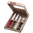 Opinel Essentiels Loft 4 coltelli da cucina