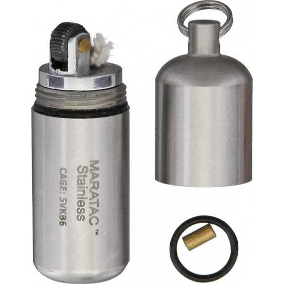 Maratac Stainless Peanut Lighter
