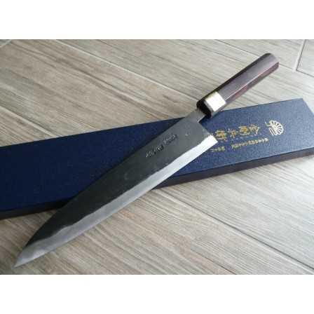 Moritaka Hamono Aogami Super Series Gyuto 240