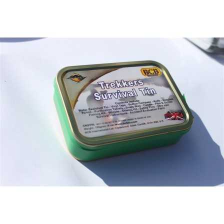 BCB Military Survival Tin