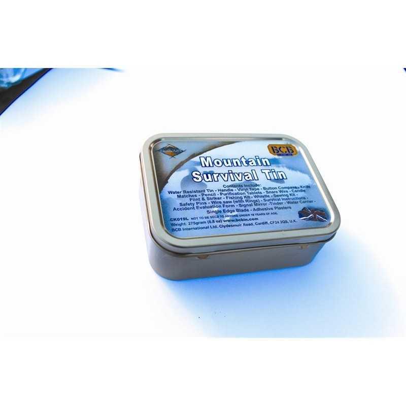 BCB Mountain Survival Tin