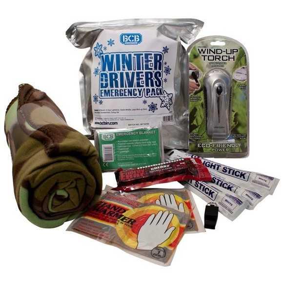 BCB Winter Drivers Emergency Kit