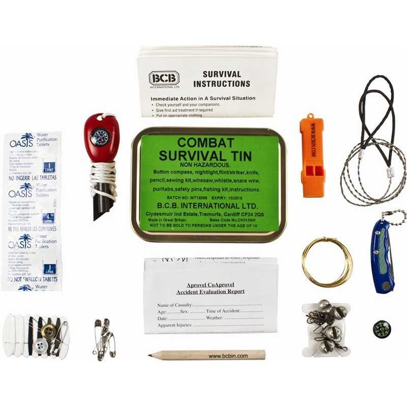 BCB Combat Survival Kit (Non Hazardous)