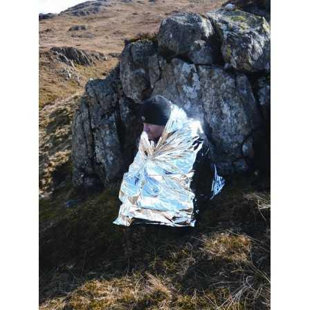 BCB Foil Hipothermia Blanket Silver