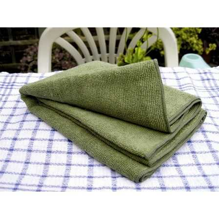 BCB Ultra Light Fibre Towel 80 x 40 Olive