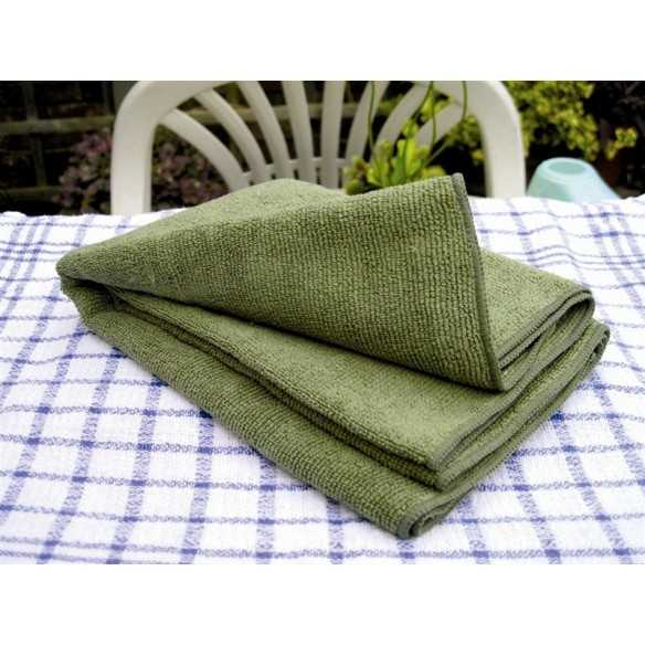 BCB Ultra Light Fibre Towel 80 x 40 Olive