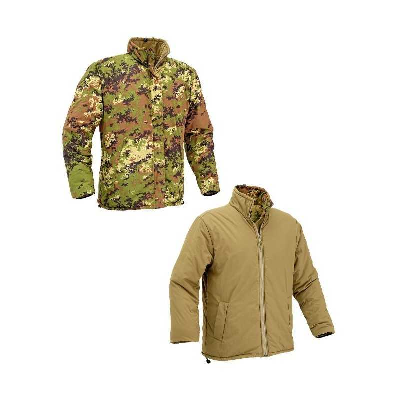 Defcon REVERSIBILE JACKET WITH COMPRESSION BAG VI/Tan