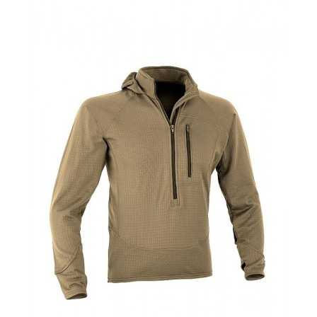 Defcon 5 COMBAT FLEECE 3/4 ZIP JACKET WITH HOOD