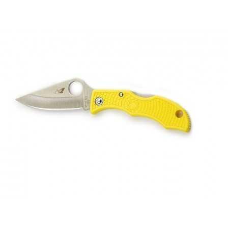 Spyderco Ladybug 3 yellow plain h1