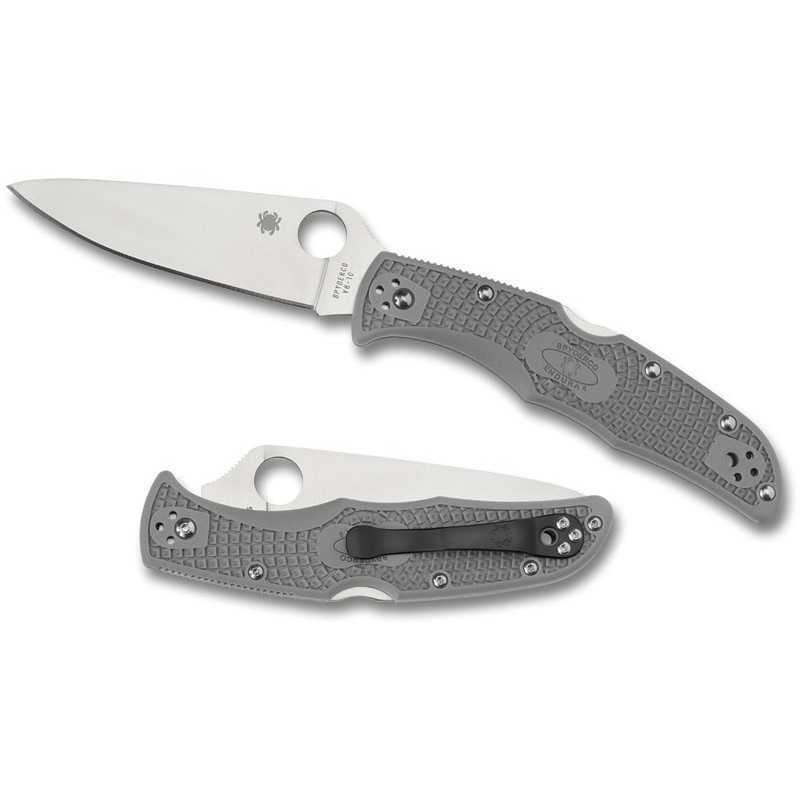 Spyderco Endura 4 Flat Ground Gray
