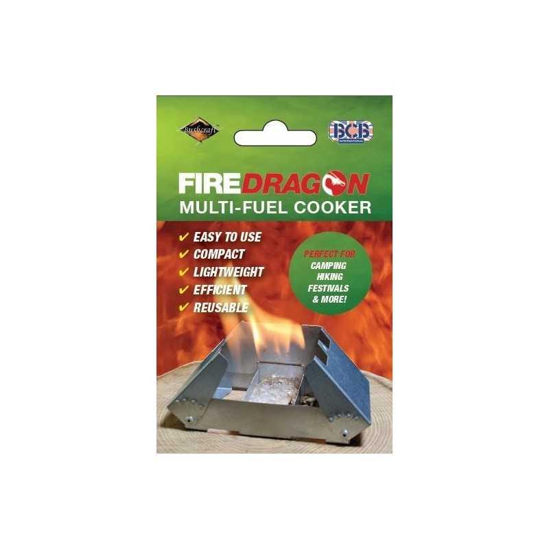 BCB FireDragon Cooker & Windbreak