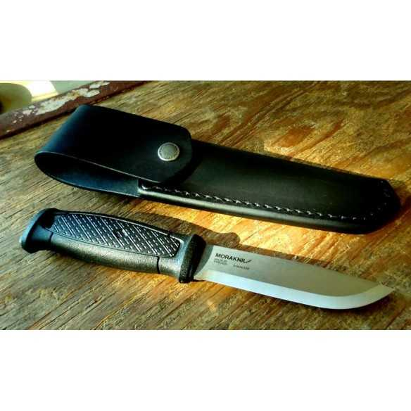 Mora knife Garberg fodero in Cuoio