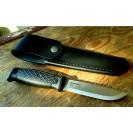 Mora knife Garberg fodero in Cuoio