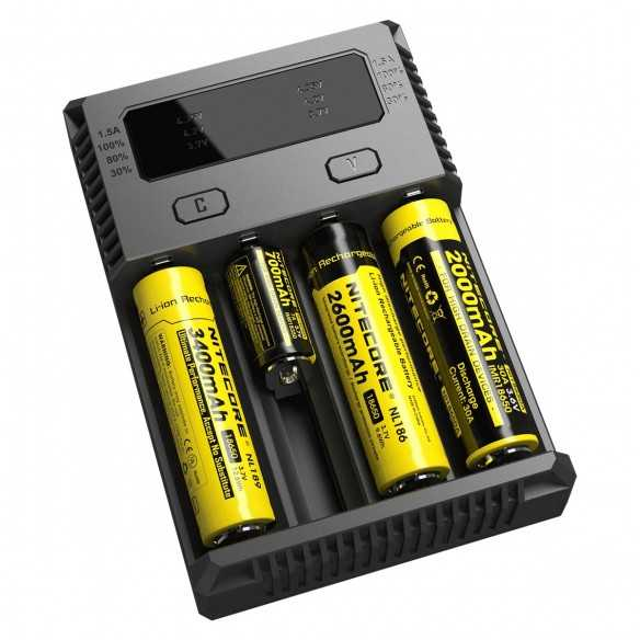 Nitecore Intellicharger New I4 Caricabatterie