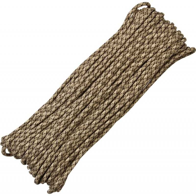 Paracord 7 strand 550lbs - 250kg Rattler 100ft (30m)