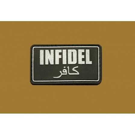 Defcon 5 JTG Infidel Patch Black
