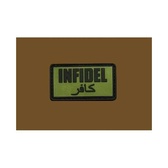 Defcon 5 JTG Infidel Patch OD Green