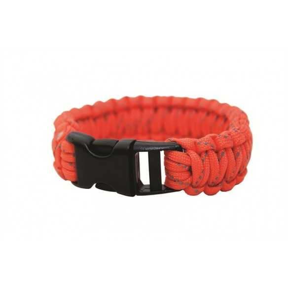 "BCB 9"" PARACORD BRACELET - ORANGE"