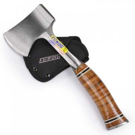 Estwing Leather Sportsman's Axe Short