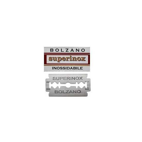 Bolzano Superinox 100 Lamette da barba