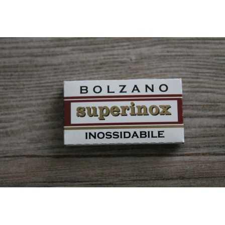 Bolzano Superinox 5 Lamette da barba