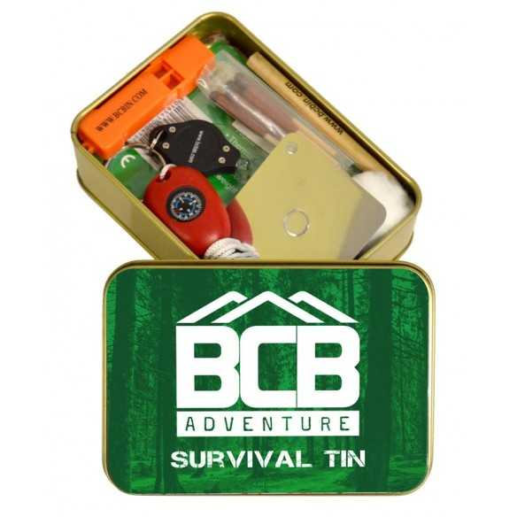 BCB Military Survival Tin