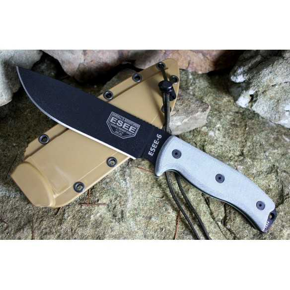 ESEE 6 Black Coyote Sheath