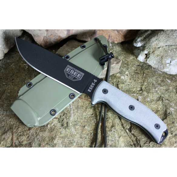ESEE 6 Black OD Sheath