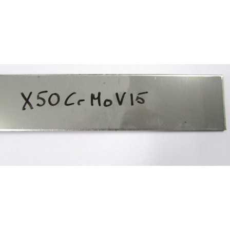 X50CrMoV15 3x50x250 mm