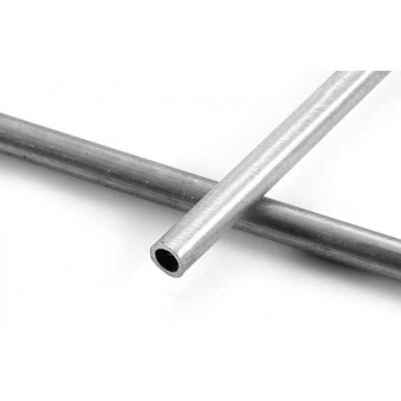 Nickelsilver tube 6.3 (1/4) x 300 mm