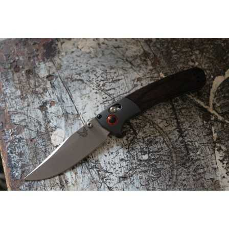 Benchmade Crooked River Stabilized Wood small