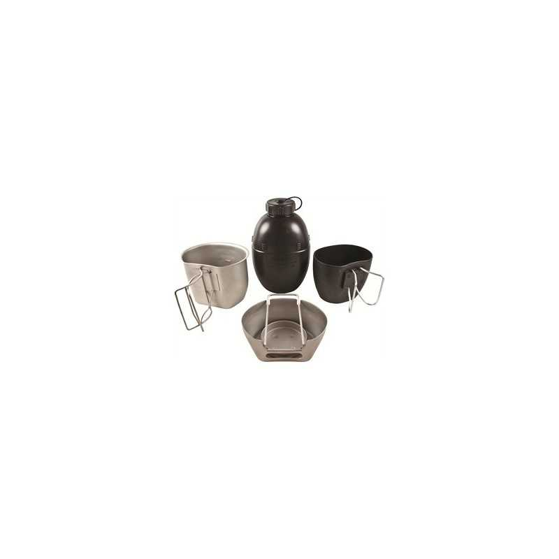 4 Part Crusader Cooking Unit MK I (Silver)
