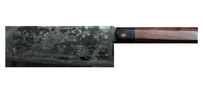usuba coltello da verdure simile al nakiri ma con affilatura a scalpello